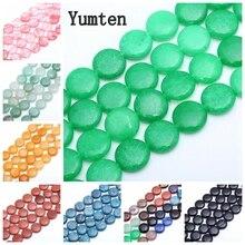 Yumten Round Jasper Bead 12mm*12mm Natural Rose Quartz Loose Beads Making Bracelets Turquoise Braided Beaded