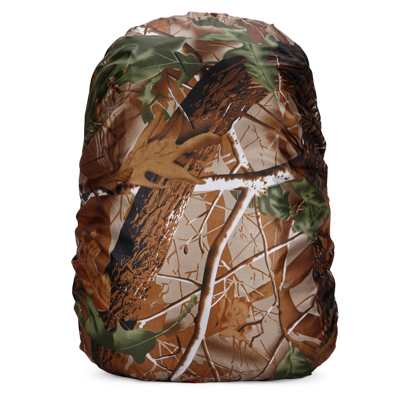 20L 45L 60L Military Camouflage Print Sports Bag Covers Oxford Ultralight Portable Outdoor Waterproof Protecter Bag Rain Cover