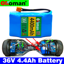 Lithium-Battery-Pack Balancing Electric-Scooter 18650 Okoman 36v Mah 4400 for 2-Wheels