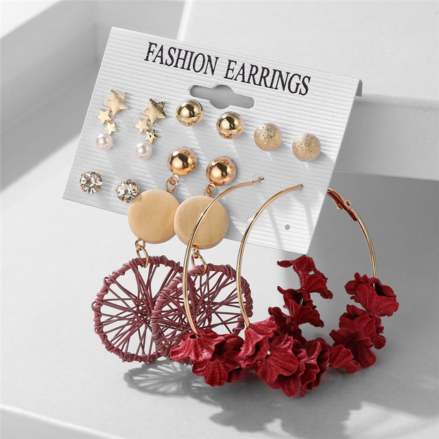 various earring bunches 3