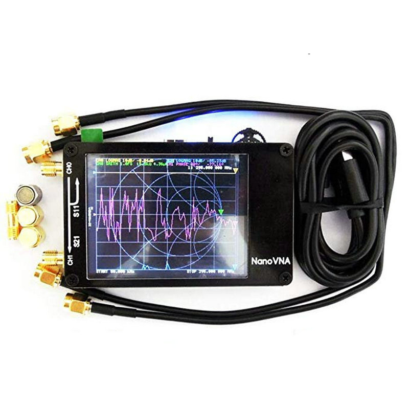 Antenna Analyser Genius Vector Network Nanovna Shortwave VHF UHF MF Genuine Original