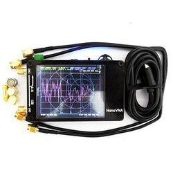 Подлинная оригинальная нановна-н векторная сетевая антенна коротковолновый анализатор MF HF VHF UHF Genius 50 кГц ~ 1,5 ГГц 2,8 4,3 экран
