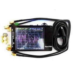 Echte Original NanoVNA NanoVNA-H Vector Netzwerk Antenne Kurzwelligen Analyzer MF HF VHF UHF Genius 2,8 4,3 bildschirm 50KHz ~ 1,5 GHz