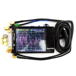Genuine Original NanoVNA NanoVNA-F Vector Network Antenna Shortwave Analyzer MF HF VHF UHF Genius 50KHz-1000MHz 2.8 4.3 Screen