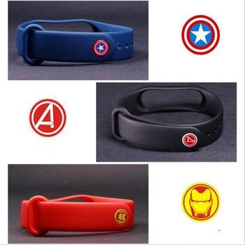 Bracelet for Xiaomi mi band 4 Strap watch Silicone wrist strap For xiaomi mi band 3 4 bracelet Miband 4 miband 3 strap Wristband 5