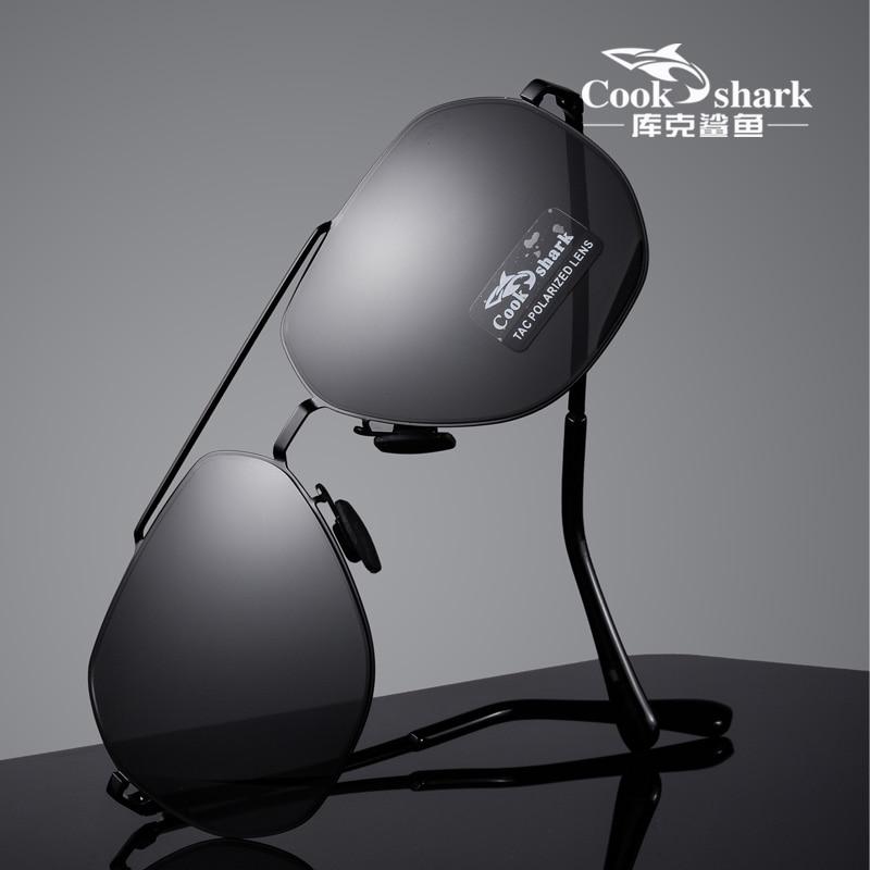Cook Shark 2020 новые нейлоновые поляризованные солнцезащитные очки, хипстерские солнцезащитные очки для вождения, очки для вождения|Мужские солнцезащитные очки|   | АлиЭкспресс