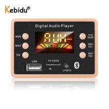 Kebidu Módulo de placa decodificadora MP3, inalámbrico por Bluetooth 5,0, 5V a 12V, AC6926, Chipset, módulo de Radio FM, MP3, FLAC, WMA, WAV, para Kit de coche