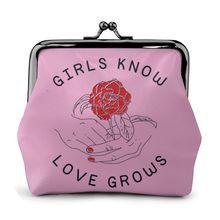 Уценка, женская кожаная мини-сумочка для монет, женская сумка с принтом s, кошелек для мелочи, металлическая застежка, держатель для карт, Прямая поставка