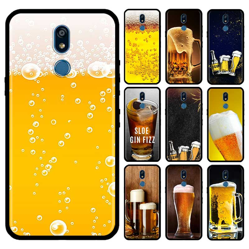 Beers Alcohol Summer Case For LG G6 G7 G8 Thinq K40 K40s Q51 Q60 Q61 Q70 K41s K50s K51s K61 Tpu Phone Carcasa Capas