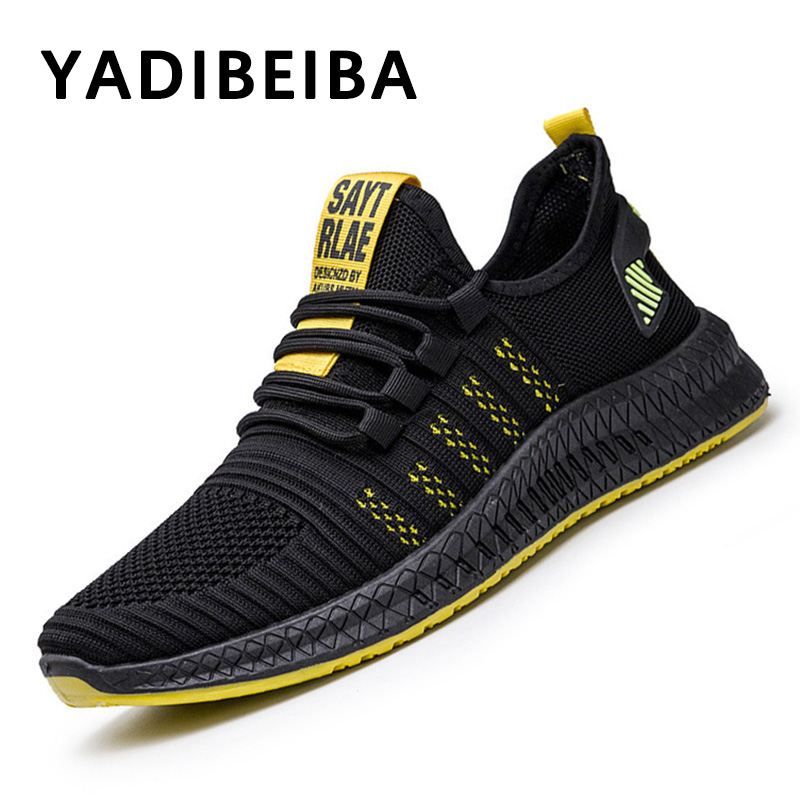 New Men Sneakers Men Casual Shoes Fashion Sneakers Men Shoes Breathable Mesh Casual Sneaker Male Shoes Adult Zapatillas Hombre