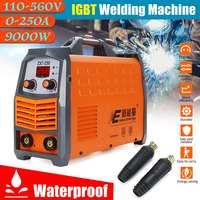 Efficient 9000W 110V 560V DC Inverter ARC Welders IGBT Welding Machine Waterproof MMA 250A 220V With LED Display Home Beginner