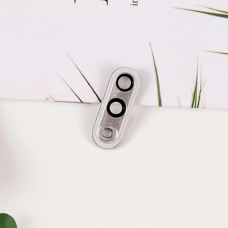 Dành Cho Huawei P30 Lite Lưng Kính Camera Ống Kính Khung Giá Đỡ Camera Sau Kính P30 Lite Ốp Lưng Có Khung Keo sửa Chữa Các Bộ Phận Dự Phòng