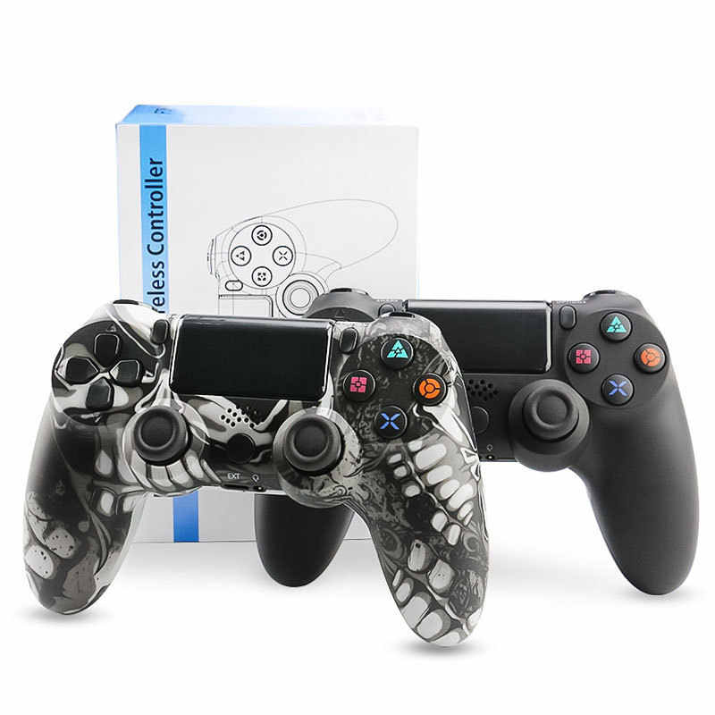 Blustooth Wireless/Wired controlador Joystick para 4 PS4 Ajuste Controlador Para PlayStation Console Para PlayStation gamepad Para PS3 4