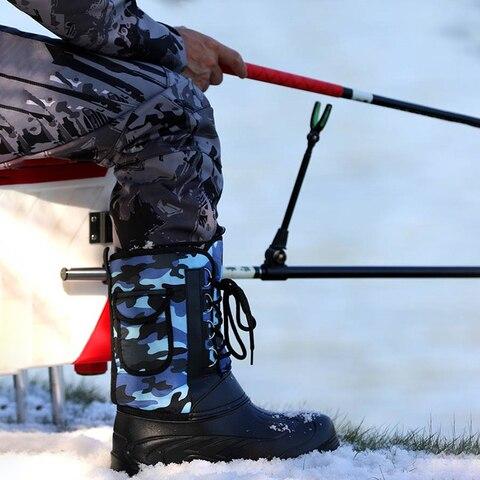sapatos de pesca inverno a prova