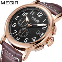 Retro Design Leather Band Watches Men Top Brand 2019 NEW Mens Sports Clock Analog Quartz Waterproof Wrist