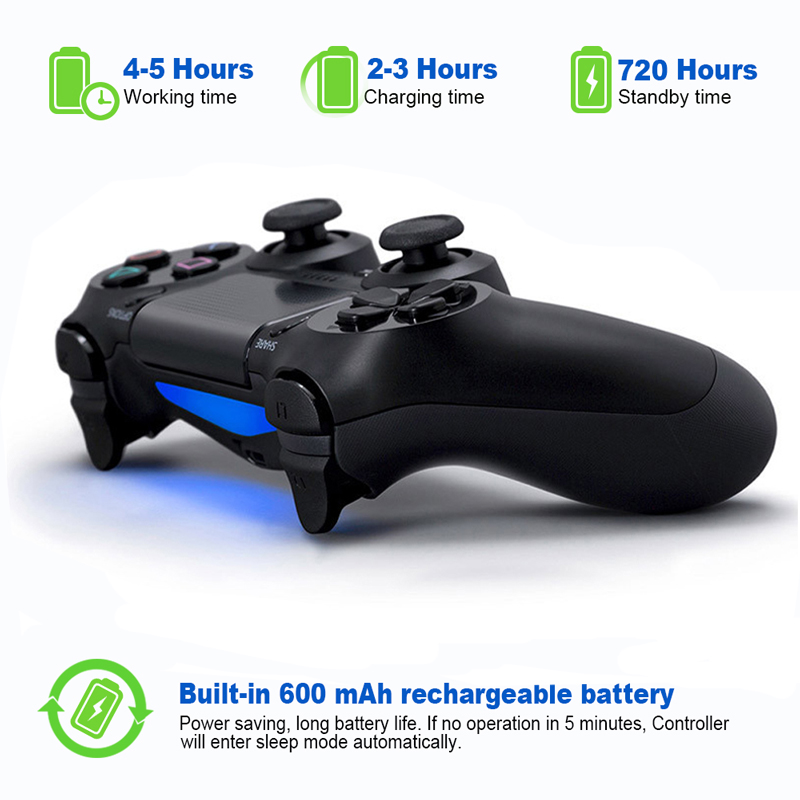 Controller For PS4 Pro / PC / Android / iPhone Wireless Bluetooth Gamepad For SONY Playstation 4 Dualshock Game Console Joystick