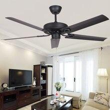 Современный потолочный вентилятор 42 дюйма без лампочек с дистанционным