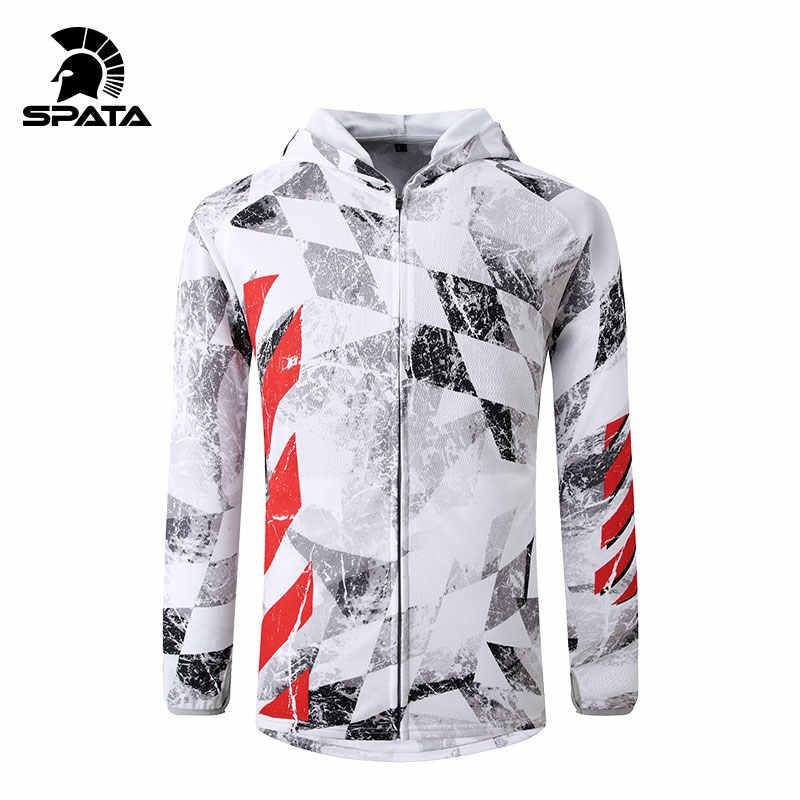 새로운 여름 낚시 자 켓 남자에 대 한 자외선 보호 긴 소매 까마귀 빠른 건조 습기 Wicking 유니폼 통기성 낚시 셔츠