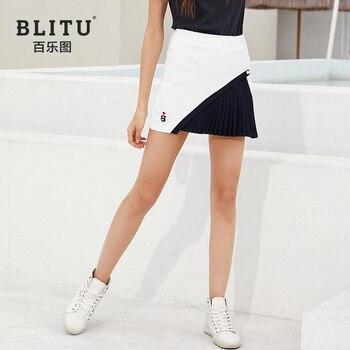 BLITU Women's Golf Skirt Summer Leisure Athletic Sports Short Skirt for Ladies 골프웨어