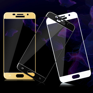 Image 3 - Protective Glass On For Samsung Galaxy A5 A7 A3 2017 2016 Tempered Glass For Samsung J5 J7 J4 J3 2018 2016 Screen Protector Film