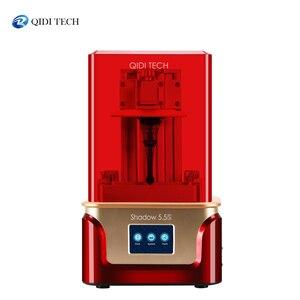 3D-принтер QIDI TECH SLA /LCD Shadow 5,5 S, УФ ЖК-полимерный принтер с двойной направляющей по оси z, размер сборки 115*65*150 мм
