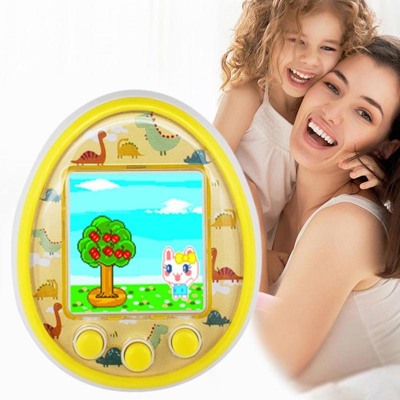 Electronic Pet Game Toy Virtual Retro Handheld Game Machine HD Color Screen Children Electronic Pets Toys