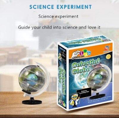 Universe Series DIY Transparent Celestial Sphere Globe Early Education Science Education STEM Educational Science Textbooks