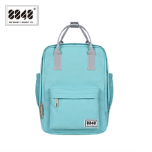 8848 Fashion Women Backpack High Quality Youth Canvas Backpacks for Teenager Female School Shoulder Bag New Bagpack mochila 003