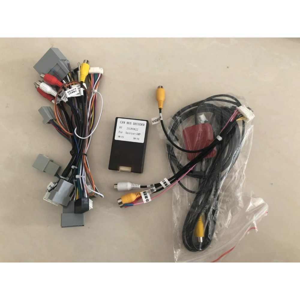 Chogath 9 インチ 2 喧騒車のマルチメディアプレーヤークアッドコアアンドロイド 8.0 カーラジオの Gps ナビゲーションホンダアコード Spirior 2008-2011