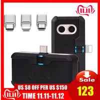 FLIR di UN Telefono Cellulare PRO Thermal Imaging Camera a raggi infrarossi imager HT-102 per iphone ipad iOS Android OTG Caratteristiche Termico Instrum
