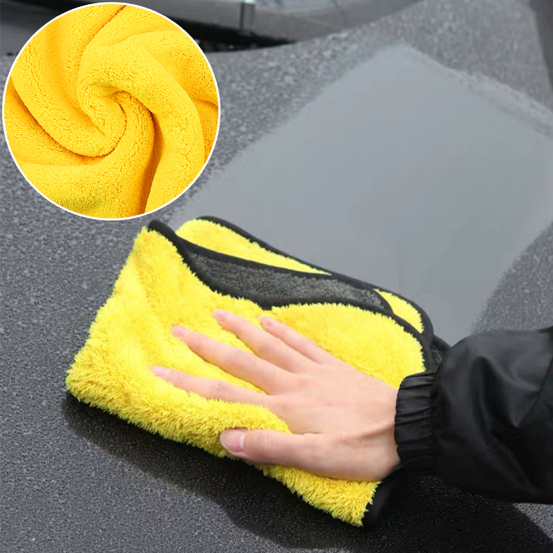 30*30/60 Cm Car Wash Microfiber Towel Car Cleaning Drying Clean Window Wash Kit Greenway Tools Detailing Accessories Cloth Large
