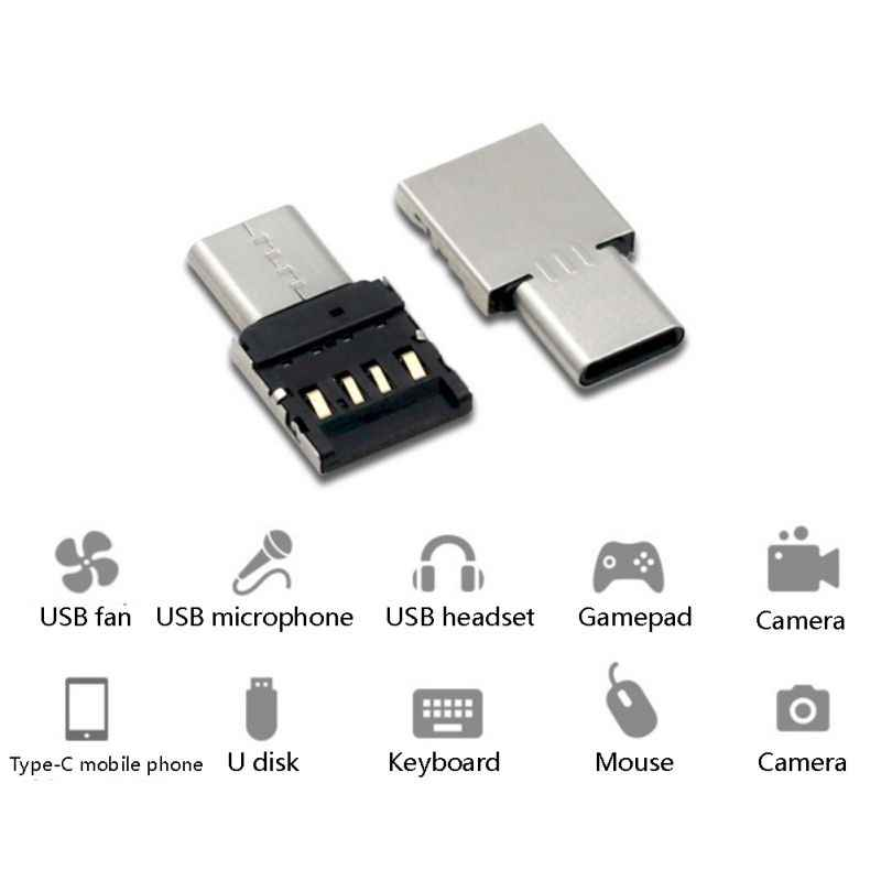 نوع-C USB تحويل الألومنيوم الجسم USB نوع C إلى USB 3.0 محول وتغ وظيفة