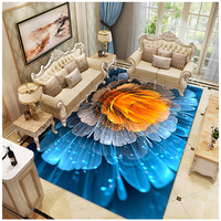 Nordic Ins Starry Sky Carpet Living Room Coffee Table Universe Fantasy Abstract Children's Room Bedroom Bedside Blanket Home