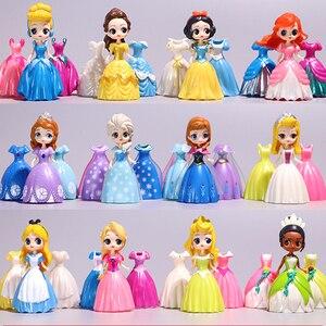 Куклы Принцессы Диснея из мультфильма «Холодное сердце», Эльза, Золушка, Ариэль, Алиса
