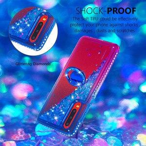 Image 3 - Gevallen voor Huawei Honor 10i P30 P30 Lite Pro Y6 Y7 Pro Prime Genieten 9 9s P Smart Cover TPU Liquid Quicksand Diamond Giltter Coque