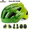 Batfox novo capacete de segurança das crianças ciclismo patinação capacete ultraleve protetor capacete da bicicleta esportes ao ar livre engrenagem protetora 11
