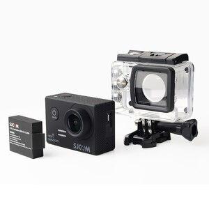 Image 4 - Originele Sjcam SJ5000X Elite Gyro Sport Actie Camera Wifi 4K 24fps 2K 30fps Duiken 30M Waterdichte NTK96660 sj Cam 5000 Auto Dv