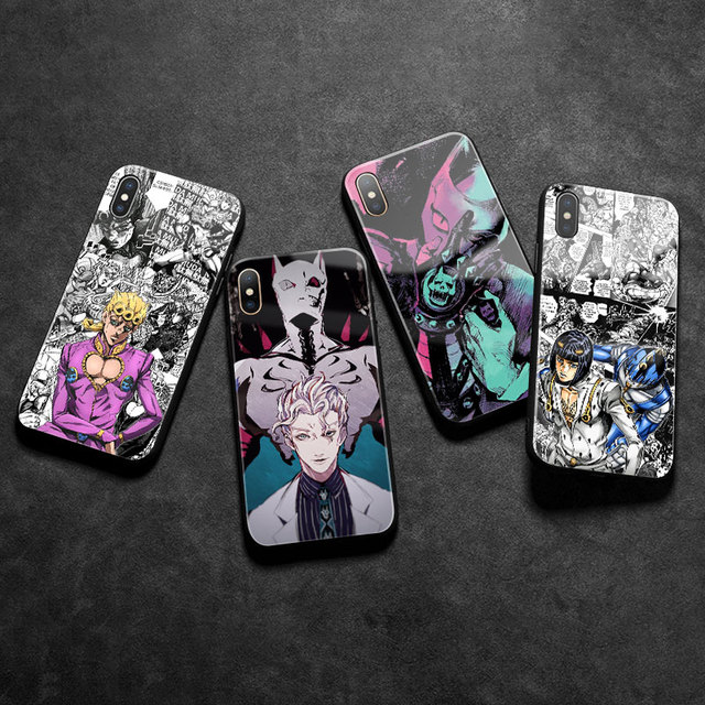 JOJO'S BIZARRE ADVENTURE IPHONE CASE
