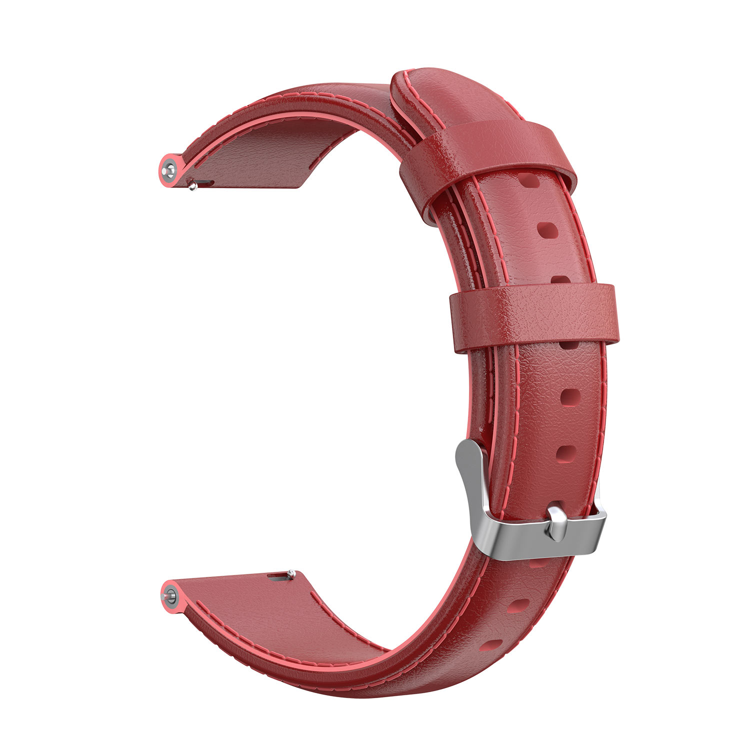 Mijobs Leather Strap for Sunnto Baro Smart Watch Genuine Leather Watchband Replacement Wrist Strap for Sunnto Baro Accessories in Smart Accessories from Consumer Electronics