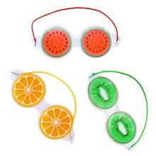 Fruit Ice Compress Eye Mask Relieve Fatigue Remove Black Eye Bags Cosmetic Ice Compress Eye Mask Gel Sleep Eye Protection