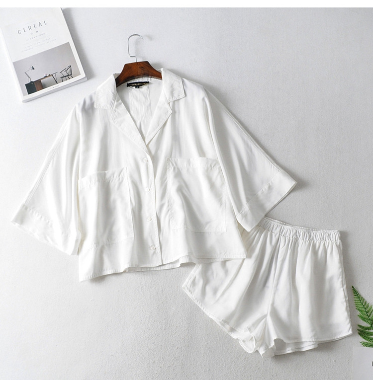 2020 Temperament Ladies Fashion Drape Shirt + Short Shirt Women Blouse Shirt Modis Vadiming Sheiner Zaraing Women Blouse Kimono