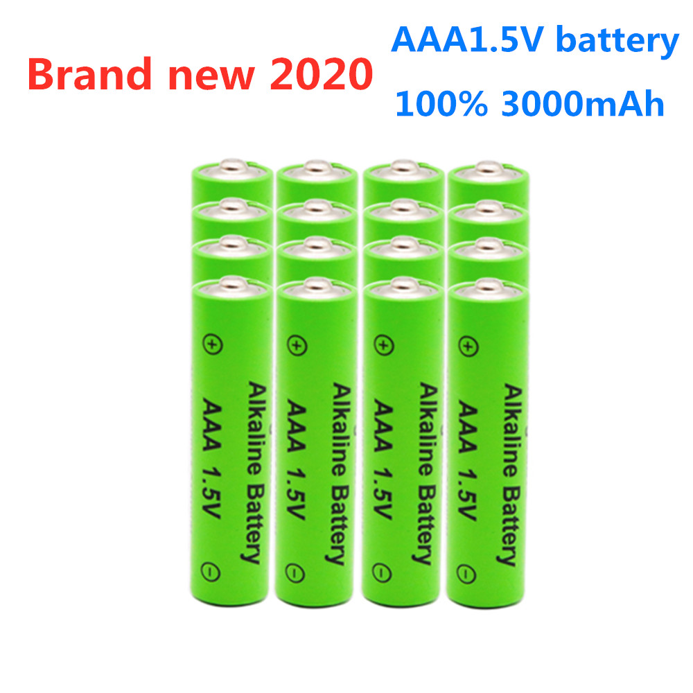 1-20PCS AAA 1.5V rechargeable AAA battery AAA Alkaline 3000mah for flashlight toys watch player replace Ni-Mh battery(China)