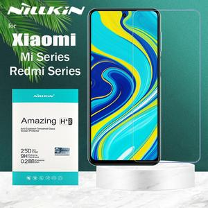 Image 2 - Nillkin Glass Screen Protector for Xiaomi POCO X3 NFC Mi 10 10T Lite 9 SE 9T Pro A3 8 Tempered Glass Redmi Note 9s 9 8T 8 7 Max