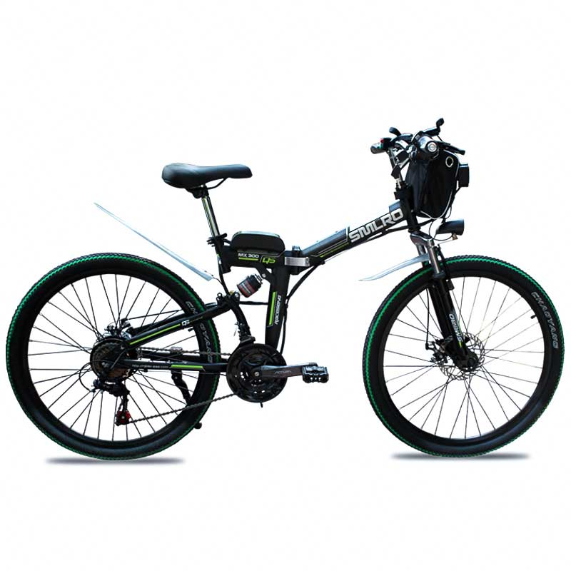 New Design 500W 48V 13AH electric bicycle 26 inch Wheel folding electric bike high quality