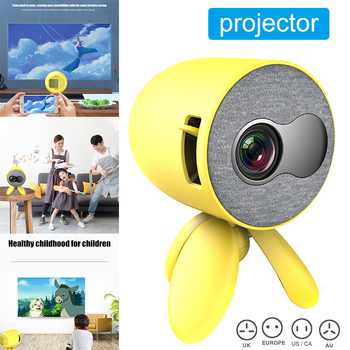 USB 3D Mini Portable Pocket Projector 1080P HDMI LED Projector Video Player Kids Gift ND998