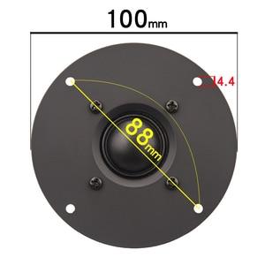 Image 4 - HIFIDIY LIVE 4 ~ 4.5 นิ้วทวีตเตอร์ลำโพงสีดำผ้าไหมเมมเบรน 4/8OHM 30W ATrebleลำโพงB1 95/100/103/104/108/110/116 มม.