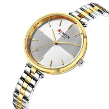 CURREN Ladies Watch Luxury Wristwatch Classic Multi-Color Casual Fashion  Quartz High Quality Montre Femme 2019 Waterproof