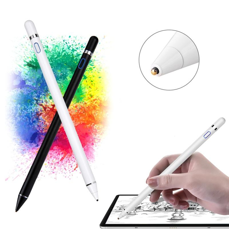 Capacitive Active Stylus Pen For Huawei MediaPad T2 T3 T5 M2 M3 Lite 8.0 10 10.1 M3 8.4 M5 M6 8.4 10.8 Matepad Pro Tablet Case