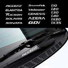 Наклейки на дверные ручки для Hyundai Veloster Accent Solaris Sonata Santafe Elantra Tucson Genesis Azera и т. Д.