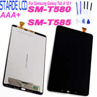 STARDE Replacement LCD For Samsung Galaxy A 10.1 SM-T580 T585 LCD Display Touch Screen Digitizer Assembly Black White with Tools